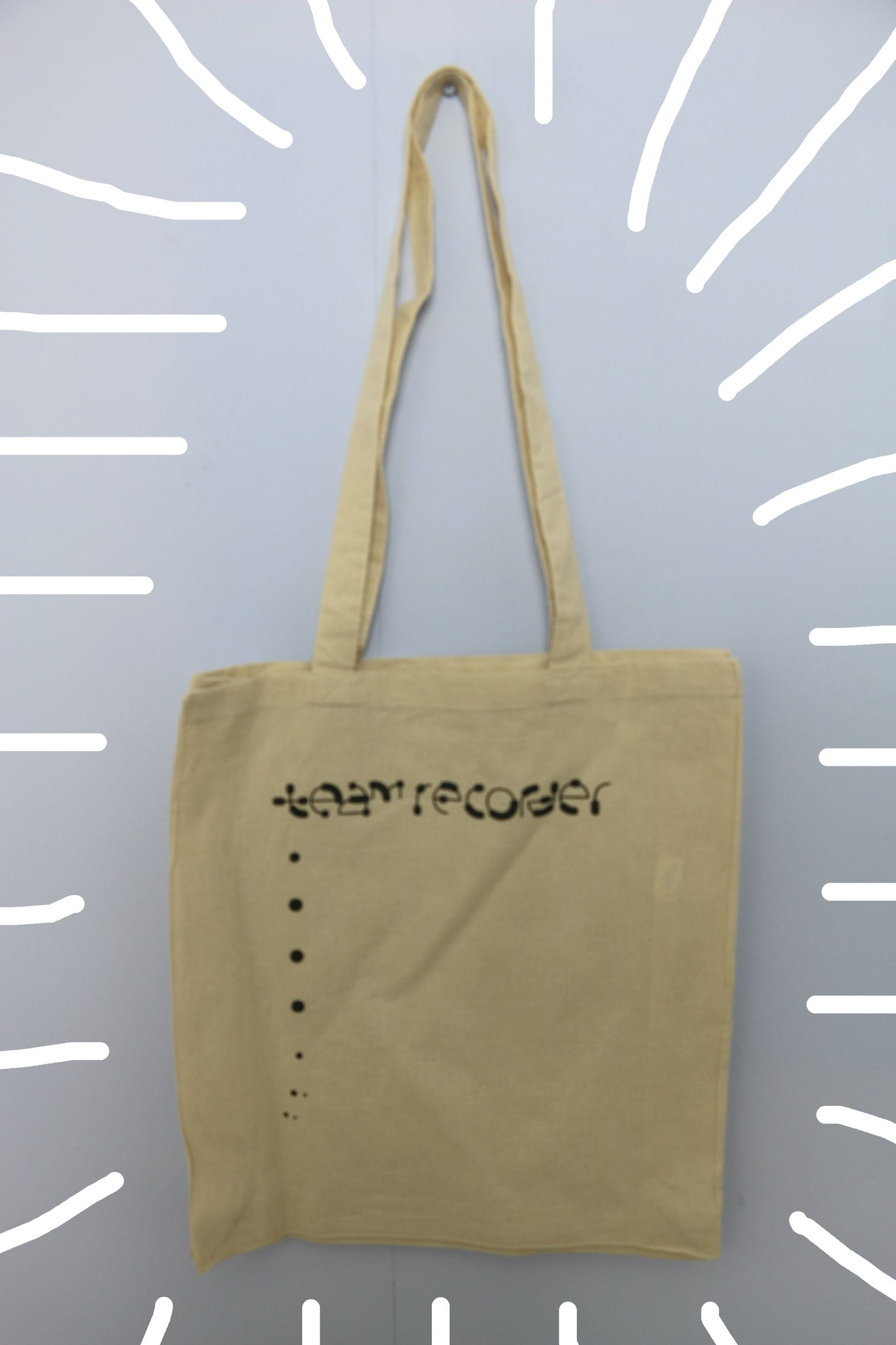 Team Recorder Tote Bag