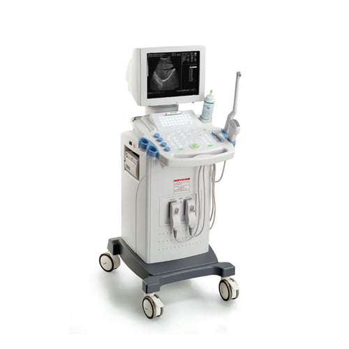 Medical Supply Full Digital Trolley LCD B/W Ultrasound Scanner B-9618CII