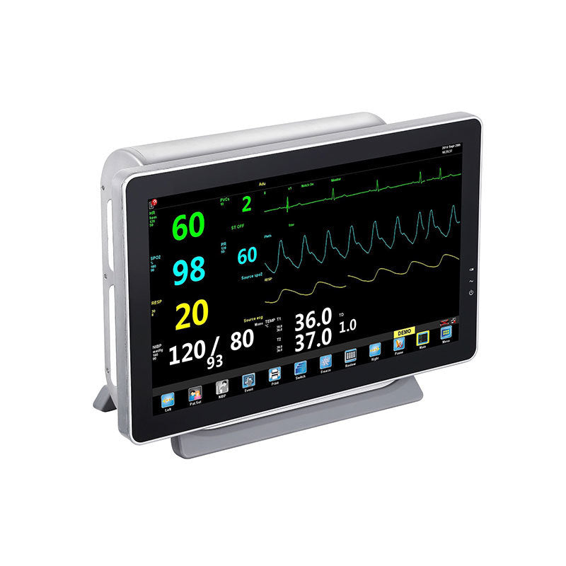 "Multi-Parameters Patient Monitor with Fully Aluminum Shell and 15.6"" /17"" /19"" Switchable Touch Screen Supported BETTER GEMINI"