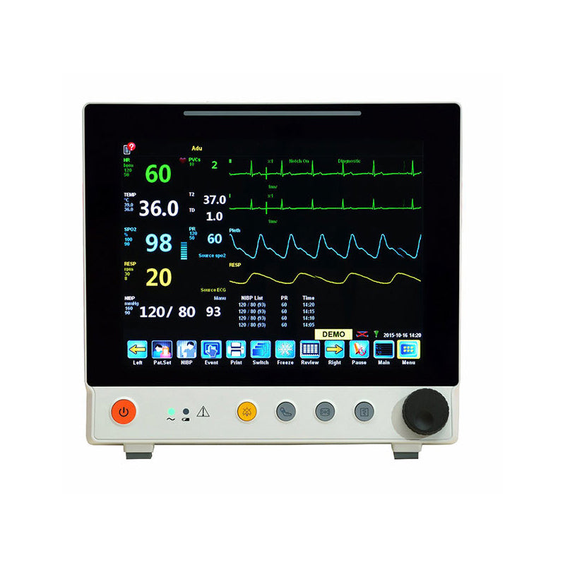12-Inch Multi-Parameter Patient Monitor BETTER VIRGO