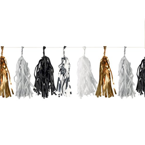 Girlande Metallic Tassel 3m