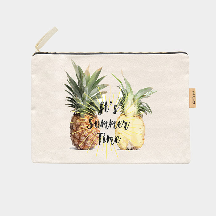 Canvas Schminktasche Eco - It's Summer Time