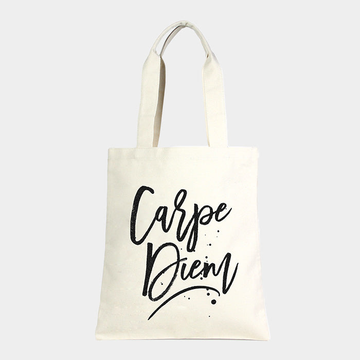 Canvas Tasche Eco - Carpe Diem