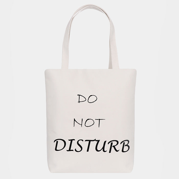 Canvas Tasche Eco - Do Not Disturb