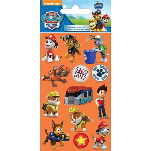 Sticker Set - Paw Patrol - 12-teilig