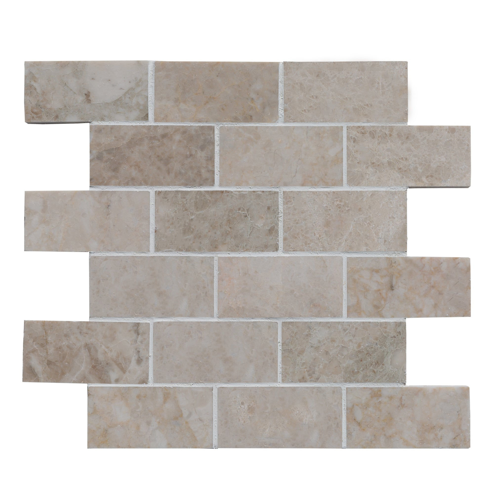Buy Marble Mosaic 2x4 Cappuccino Polished Online At Best Price In