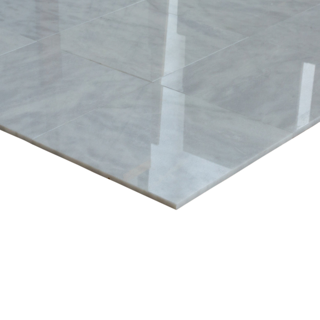 Buy Carrara Marble Polished Tiles 12x12\