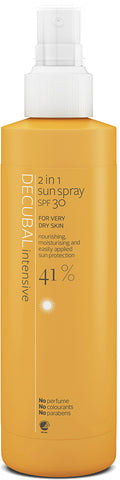 Decubal Intensive 2-in-1 Sun Spray SPF 30 til tørr og følsom hud - 200ml