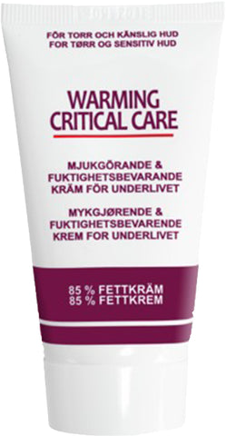 Dr. Warming Critical Care ved følsomme hudfolder - 80ml, 40ml