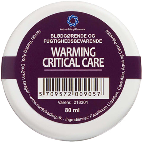 Dr. Warming Critical Care vid känsliga hudveck – 80 ml, 40 ml