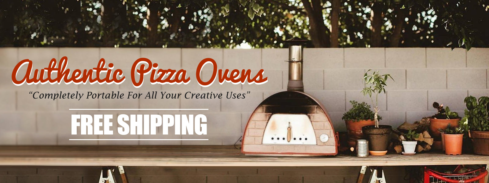 Authentic Pizza Ovens Maximus Arena Portable Pizza Ovens