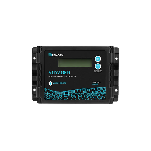 Renogy New Edition Voyager 10A PWM Waterproof Solar Charge Controller