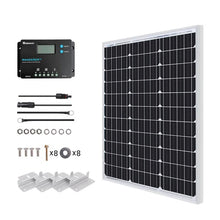 Load image into Gallery viewer, Renogy 50 Watt 12V Monocrystalline Starter Kit