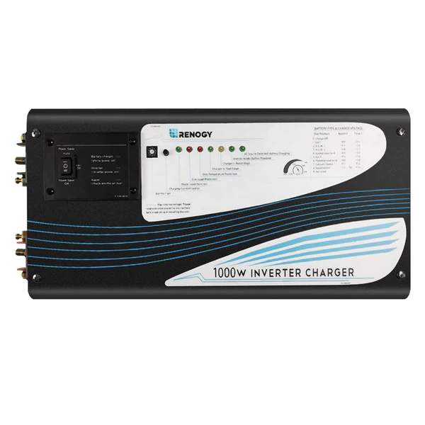 Renogy 1000W Pure Sine Wave Inverter Charger