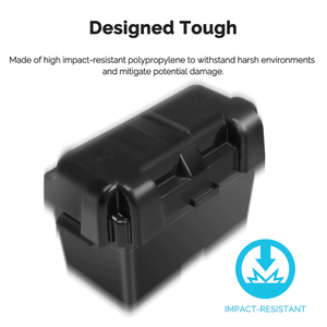 Renogy Heavy Duty Battery Box for Group 24-31 Battery Sizes