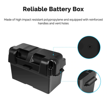 Load image into Gallery viewer, Renogy 12V 100Ah Deep Cycle Hybrid GEL Battery w/ Battery Box
