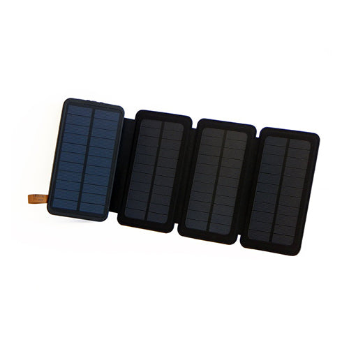 5W SunJack Solar Charger + Powerbank Flashlight