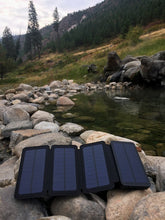 Load image into Gallery viewer, 5W SunJack Solar Charger + Powerbank Flashlight
