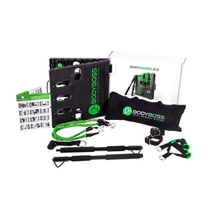 BodyBoss 2.0 System Portable Gym Green pkg2-green
