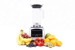 Chicago Food Machinery CFM-CB Professional Heavy Duty Commercial Blender, 3 HP Motor, Silver
