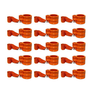 Eagle Pin Locks KA-12-S Keyed Alike Trailer King Pin Lock Trailer Lock (12, Orange)