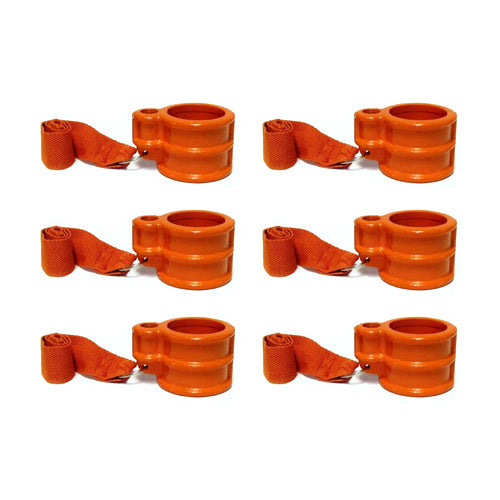 Eagle Pin Locks KA-6-S Keyed Alike Trailer King Pin Lock Trailer Lock (6, Orange)