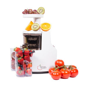 Natural Classico Electric Slow Masticating Juicer Extractor for Fruit and Vegetable