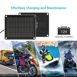Renogy 5W Solar Battery Charger and Maintainer