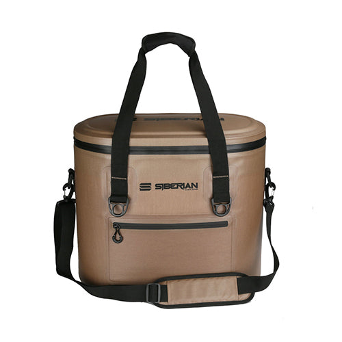 Siberian Coolers Softside Sidekick 32 Cooler Bag Saddle Brown