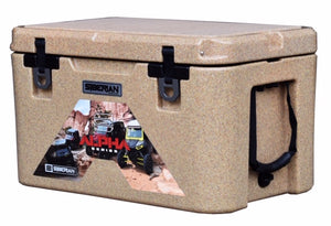 Siberian Coolers ALPHA Pro Series 85 Quart Cooler Sahara Tan