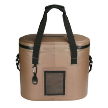 Load image into Gallery viewer, Siberian Coolers Softside Sidekick 32 Cooler Bag Saddle Brown
