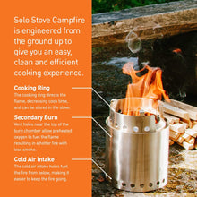 Load image into Gallery viewer, Solo Stove Campfire 820103794848 SSCF