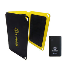 Load image into Gallery viewer, SunJack 15W Portable Solar Charger + Powerbank
