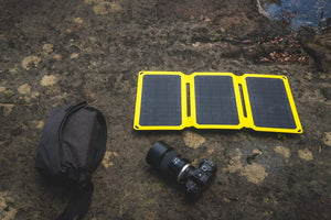 SunJack 15W Portable Solar Charger + Powerbank