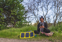 Load image into Gallery viewer, SunJack 25W Portable Solar Charger + 2 Powerbanks