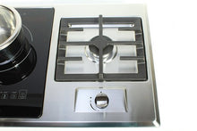 Load image into Gallery viewer, True Induction TI-1+1B Built-in RV stove with Gas Burner and Induction Cooktop