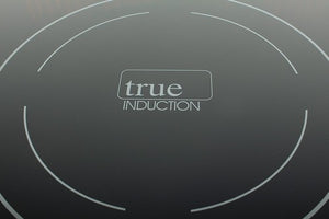 True Induction TI-1+1B Built-in RV stove with Gas Burner and Induction Cooktop