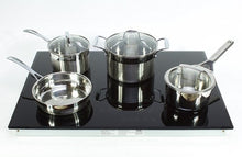 "Load image into Gallery viewer, True Induction TI-4B 30"" Electric Built-in Induction Cooktop Stove, 4 Burner, 7400W"