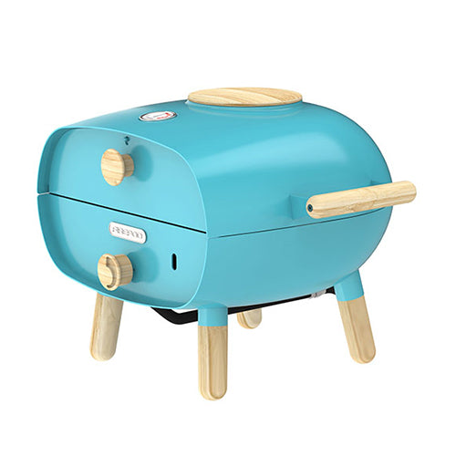 The Firepod Outdoor Gas Oven in Azure Blue (Limited Edition) Firepod Blue