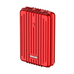 Zendure A3 PD 10,000 mAh Crush-Proof Portable Charger (Red)