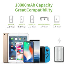 Load image into Gallery viewer, Zendure A3 PD 10,000 mAh Crush-Proof Portable Charger (Silver)