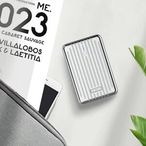 Zendure A3 PD 10,000 mAh Crush-Proof Portable Charger (Silver)