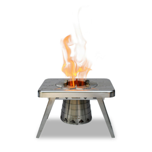 nCamp Wood Burning Camping Stove