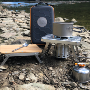 nCamp K2G 4pc – Stove, Prep, Adapter & Case