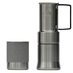 nCamp Compact Espresso-Style CaféCoffee Maker For Camping Hiking BackpackingCompact and Lightweight