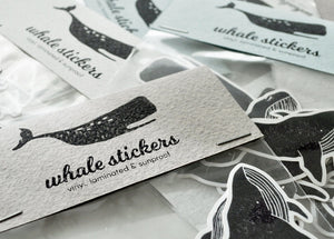 Whales Sticker Pack