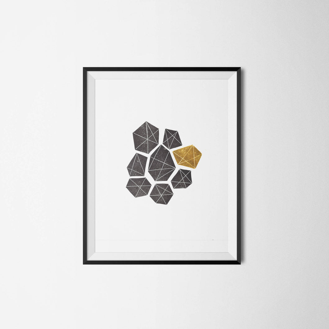Geometric Shapes Print