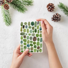 Trees Pattern Greeting Card