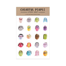 People Sticker Sheet