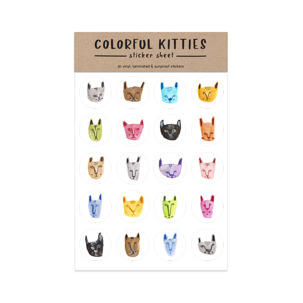 Kitties Sticker Sheet